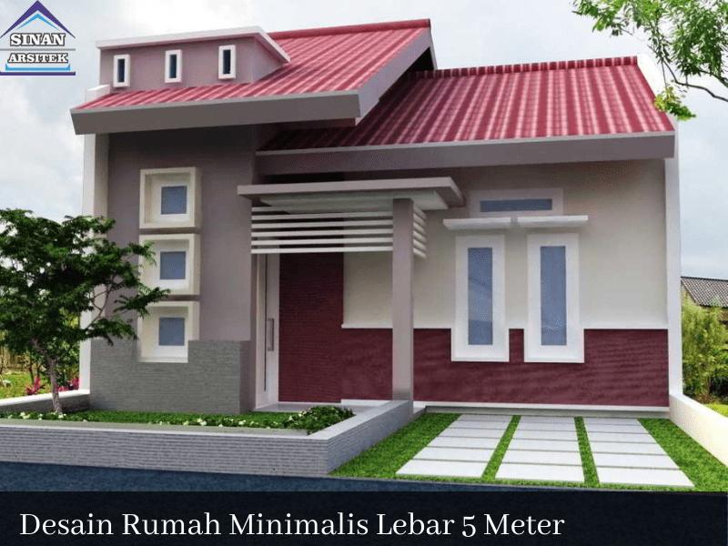 desain rumah minimalis lebar 5 meter