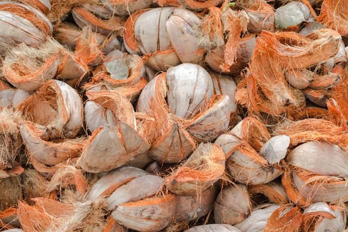cara membuat kerajinan tangan dari sabut kelapa