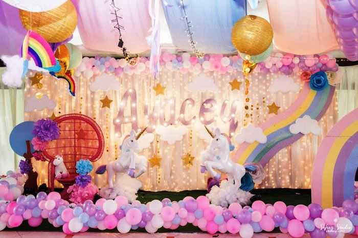 indodekorasi.com dekorasi ulang tahun anak tema unicorn