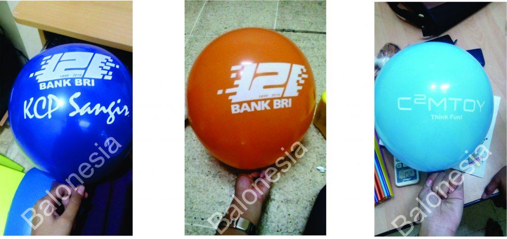 Balon Sablon Promosi Perusahaan
