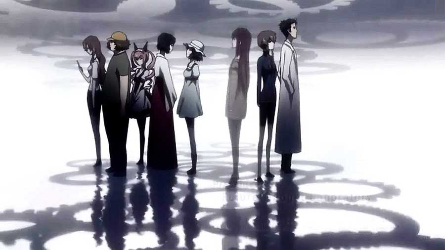 Review Anime Steins Gate