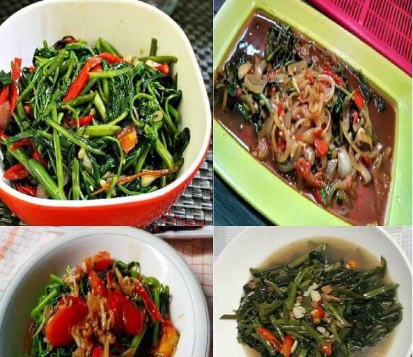 Resep Tumis Kangkung Rumahan Bumbu Spesial Ala Restauran