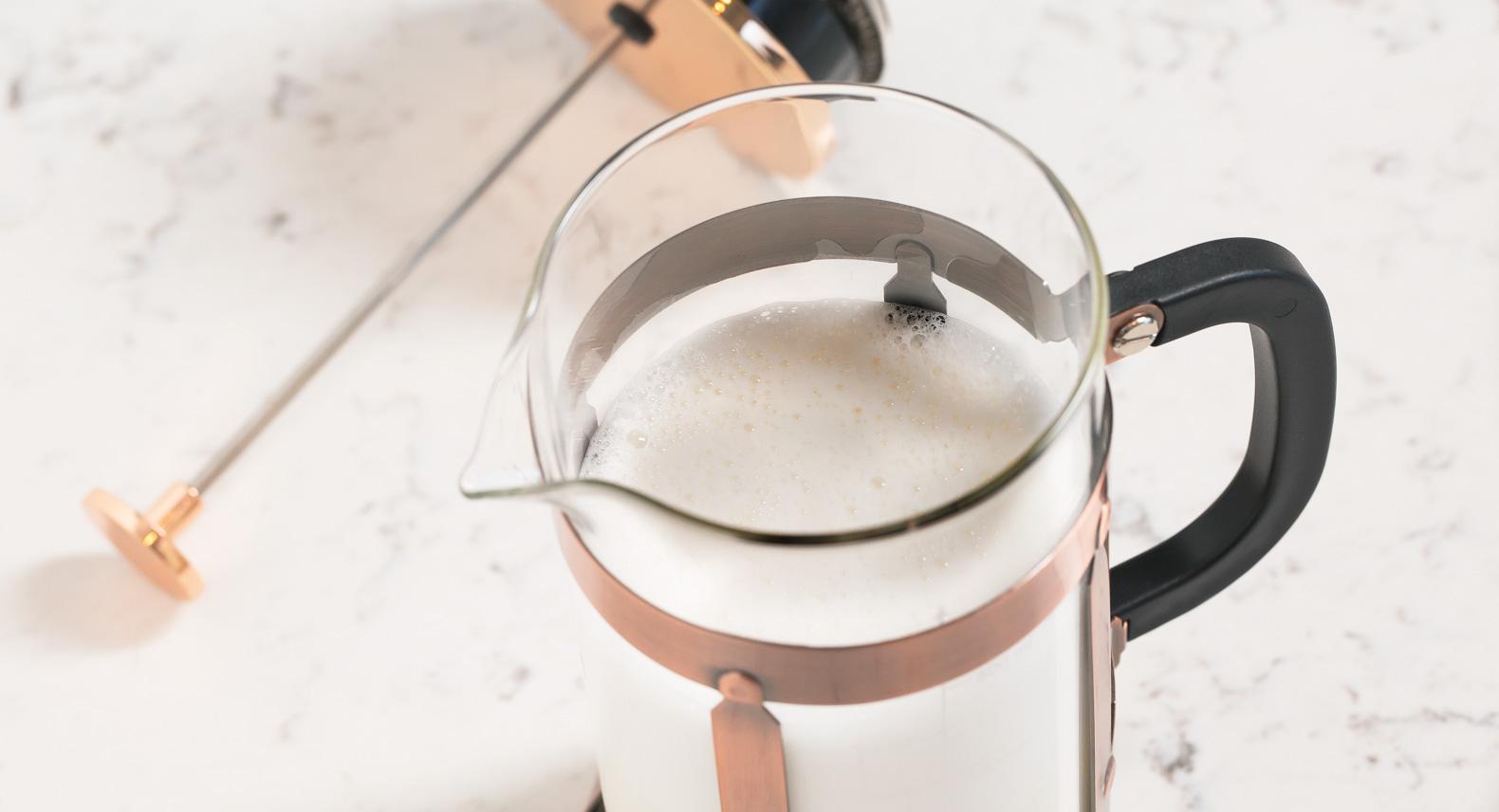 cara membuat foam susu yang bagus